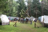 Jubilejní 30. tábor oddílu Žlutý kvítek na Paulině louce u Otavy 2014