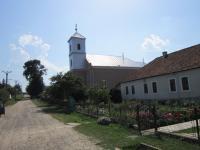 Kostel sv. Štefana v Gemelčičce v Rumunsku