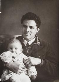 Pamětnice s otcem