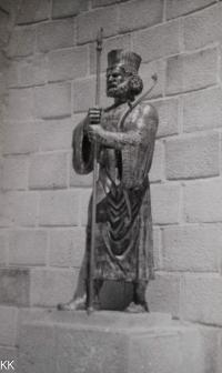 Socha krále Kýra