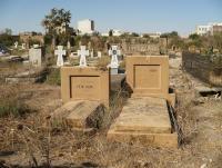 Hroby otce a syna Heimových, foceno v roce 2007