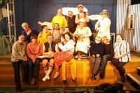 Municipal Theatre of Mladá Boleslav. After the dress rehearsal. V. Vančura / R. Felzmann: Capricious Summer (2007)