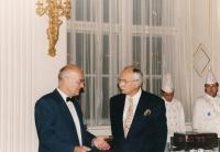 Diskuze s ministrem Dybou (1996)
