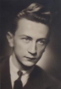 Václav Daněk, dobový portrét pamětníka