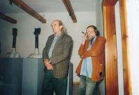 Karel Nepraš a Jan Steklík, přelom 80. - 90. let