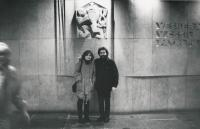 J. Skalník s manželkou