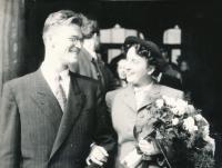 Olga Raisová Marrying Vladimír Fiala (1949)