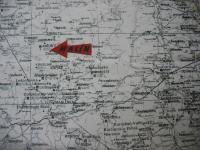 Mapa rodiště pamětnice