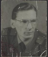 Karel Lánský v mládí