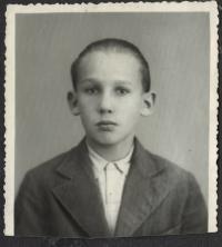 Karel Lanštoffel, dětský portrét