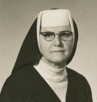 Teta pamětnice Norberta Anna Cihlářová, 1971, Mariánská u Jáchymova