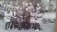 Batěk and his teaching staff colleagues