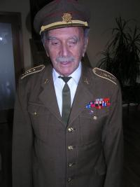 Jansky Alfred in uniform from The Second World War