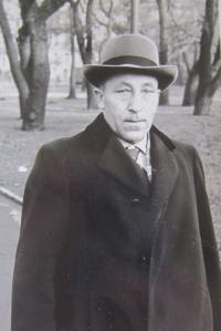 Stepfather Václav Vondráček
