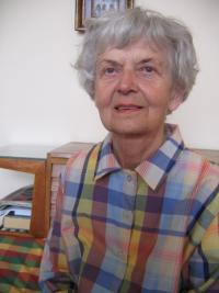 Hübnerová během natáčení v roce 2008
