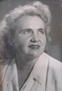 Hübnerová-matka Ludmila Michelová