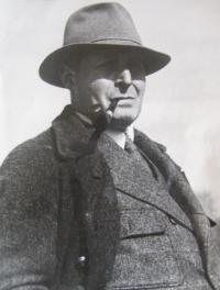 Hübnerová-otec Ing. Vilém Michel
