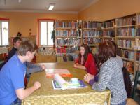 V knihovně Dačice