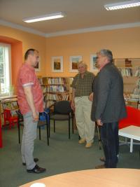 Setkání v knihovně