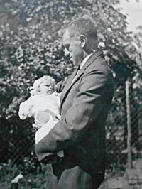 Pamětníkův otec ing. Karel Faber