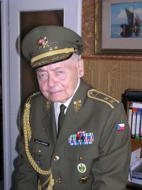 Miroslav Kácha doma v Praze září 2006