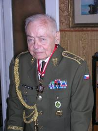 Miroslav Kácha at home in Prague September 2006 II