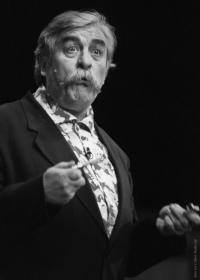 Július Satinský, collegue of Milan Lasica (foto Ctibor Bachratý)