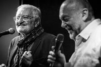 Milan Lasica and Peter Lipa (foto Ctibor Bachratý)