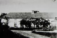 The farm of Marie and Jan Nevoral in Vraníně.