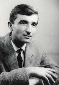Fabinger Jiří - 1. pol 60. let foto Stanislava Tereby