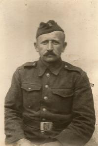 Godfather  Alexander Vodrážka the 1st Czechoslovak Army Corps in August 1944,