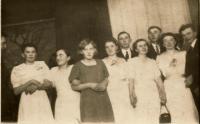 In 1938 in Bludov in Volyn