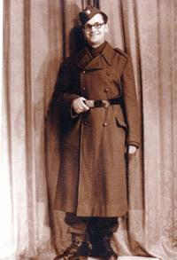 Jako voják, 1946