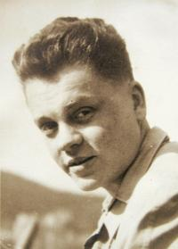 Hovorka in 1950