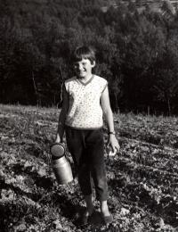 Dcera Pavla Sedláčková (Mikešová) / 1967