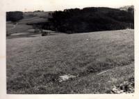 Krajina valašských pasek v okolí Růžďky / počátek 40. let
