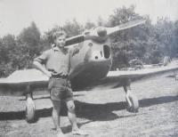 Břetislav Loubal, Aero club