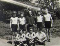 Břetislav Loubal, May 19, 1946, Sokol competition in Tišnov
