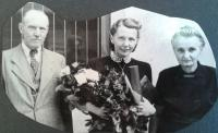 sestra Eva s rodiči