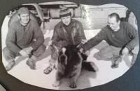s kolegy, Miroslav Soukup vpravo, 1963