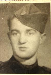 Koloman Hamar - soldier