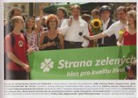 Vstup Strany zelených do Parlamentu, 2006