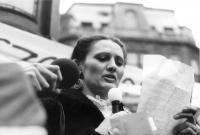 Róza Hodosán, 1988. March 15, Batthyány Eternal Flame
