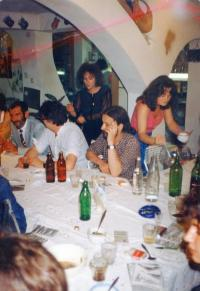 House party, Adyliget, 1986