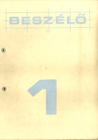 The cover of the Beszélő