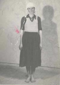 Lucreţia Jurj (photo from her arrest)
