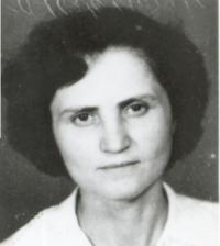 Lucreţia Jurj în 1964, shortly after her release