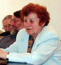 Lucreţia Jurj în 2003, at the Summer School organized by the Sighet Memorial