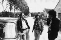 Sándor Simó, Pál Juhász and Gábor Havas first half of the eighties