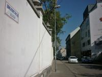 Banskobystrická street in Bratislava, where protest against Soviet invasion in 1968 was held